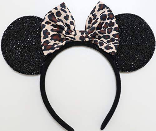 Leopard Mickey Ears, Cheetah Mickey Ears, Leopard Minnie Ears, Cheetah Minnie Ears, Minnie Ears, Mickey Ears, Lion King Animal Kingdom Ears, Ears