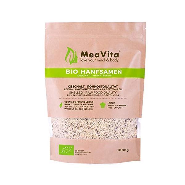 Mea Vita Meavita Bio Hanfsamen geschält 1kg