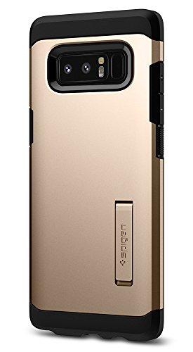Spigen [Tough Armor Kompatibel mit Samsung Galaxy Note 8 Hülle Extrem FallschutzDoppelschutz Silikon Schutzhülle Maple Gold (587CS22082)
