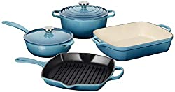 Le Creuset MS1406-6MSS Signature Enameled Cast Iron Set, 6-Piece Review