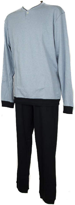 RAGNO Pajamas Man Cotton Long-Sleeved Seraphim Sleepwear Item N26401 BIO Cotton PGLS