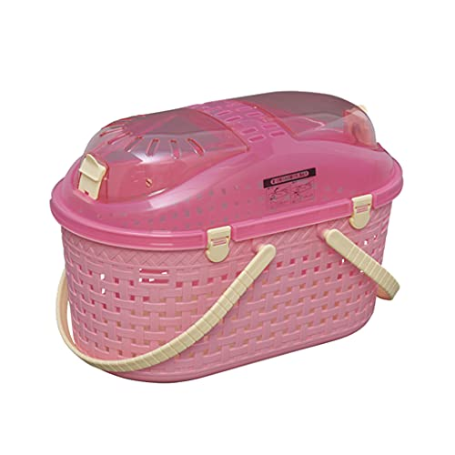 Pet backpack Bolsa De Transporte para Mascotas, Mini Jaula De Salida, Maleta De Malla, Jaula Portátil, Tres Colores Opcionales para Viajar, Caminar, Caminar, Acampar