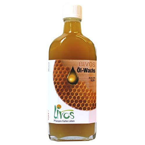BIVOS Öl-Wachs Nr.375 0,25l Livos für Möbel und Linoleumpflege, Holzbehandlung, Restaurierung