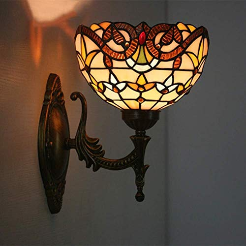 YONGYONGCHONG Zaklamp Creatieve Barok Glas Wandlamp Thuis Decoratie Sconce Milieubescherming Prachtige Werking Binnenplaats licht