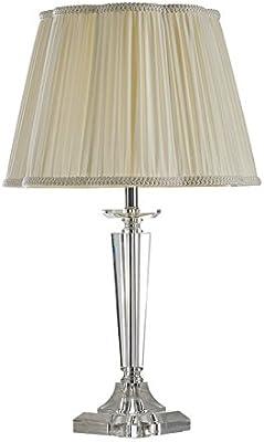 LRW Camera da letto moderna di cristallo di Bedhead della lampada da letto della camera da letto europea moderna semplice della stanza di nozze calda creativa del salone