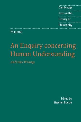 Hume: An Enquiry Concerning Human Understanding: And Other Writings (Cambridge Texts in the History