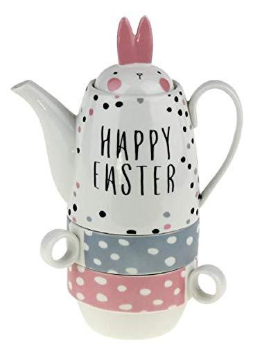 Werner Voss Tea for Two - Kanne und Zwei Tassen für Ostern
