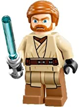 Lego Star Wars Obi-Wan Kenobi Minifigure With Lighsaber (2013, LF) From Set 75012