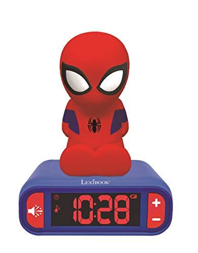 Digitale wekker voor kinderen. Spider-Man -