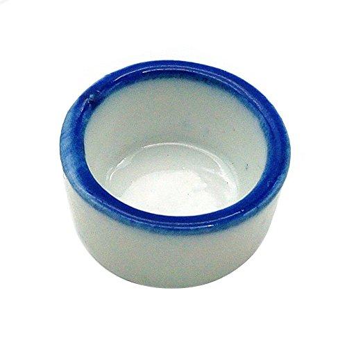 OMEM 3Pack Reptile Terrarium Micro Wasser-Schale für Spider Keramik Schale