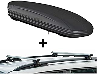 Dachtr/äger Menabo Tema kompatibel mit Opel Meriva B ab 2010 Aluminium Steilheck 5 T/ürer Dachbox VDPMAA460 Weiss abschlie/ßbar 460Ltr