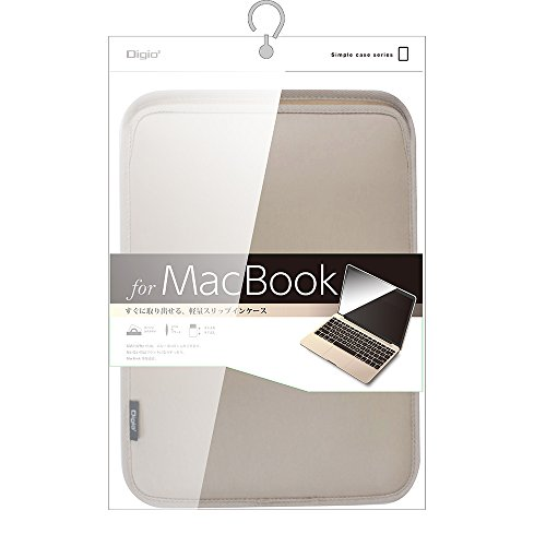 MacBook 12インチ用 スリップインケース ゴールド SZC-MB2103GL
