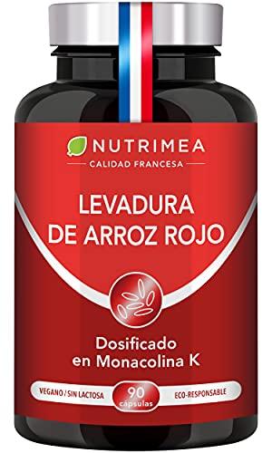 Levadura Roja de Arroz Coenzima Q10 Baja Tu Colesterol Monacolina