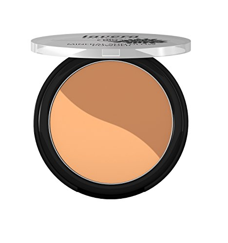 lavera Puder Mineral Sun Glow Bronzing Powder ∙ Farbe Golden Sahara ∙ Summer Glow Bräunungspuder ∙ Natural & innovative Make up ✔ vegan ✔ Bio Pflanzenwirkstoffe ✔ Naturkosmetik ✔ Teint Kosmetik 1er Pack (1 x 9 g)