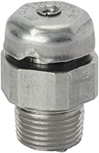 Appleton Electric Universal Drain or Breather, Stainless Steel, Male Connection, 3/8 Conduit Size - ECDB38