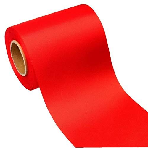Yililay Cintas, 25MM 10M Craft Cintas Rojas imprimió la Cinta de poliéster para la Boda de cumpleaños Decoraciones del Partido
