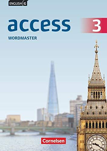 English G Access - Allgemeine Ausgabe und Baden-Württemberg - Band 3: 7. Schuljahr: Wordmaster mit Lösungen - Vokabelübungsheft