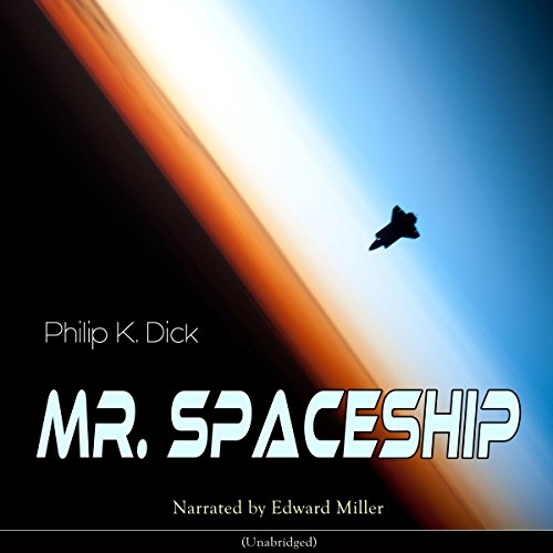 Mr. Spaceship audiobook cover art