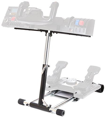 Wheel Stand Pro S Compatible with Saitek Logitech Pro Flight/Cessna Yoke System;Yoke Support; Wheel Stand Only Flight System Not Included.