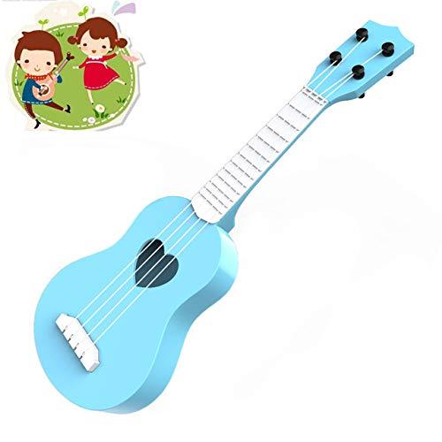 Stringed Muzikaal Speelgoed Voor Meer Dan 2 Jaar - De Vroege Kinderjaren Muziekinstrument Simulatie Speelgoed Gitaar Kan De Ukulele Vier Spelen