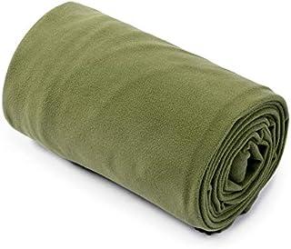 Ultrafun Fleece Sleeping Bag Liner Compact Ultralight Warm Dirt-Proof Sleeping Sheet 71x32 inches Sleep Sack for Backpacki...