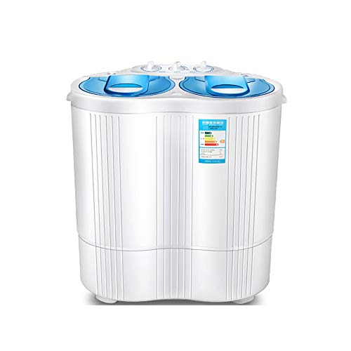 Mini Twin Tub Washing Machine, The Portable semiauto, Compact kindbaby Single Tub wasmachine en centrifuge, voor Camping slaapzalen Apartments College Rooms