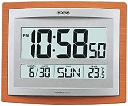 ساعة حائط رقمية من كاسيو ID-15S-5DF - برتقالي
