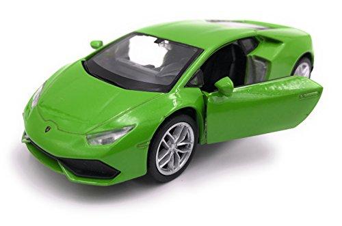 Welly Huracan LP 610-4 Modelo de automóvil Deportivo Auto Licencia de Auto Producto 1: 34-1: 39 Verde