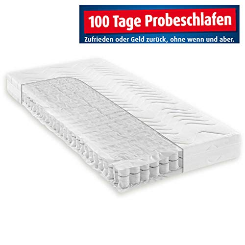 ROLLER Taschenfederkernmatratze Komfort MED - H3-100x200 cm