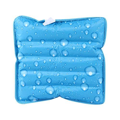 Weikeya Cojín Fresco rápido, sábana de Siesta 36 * 36 cm Almohada de Espuma de Memoria para Viajes a Domicilio