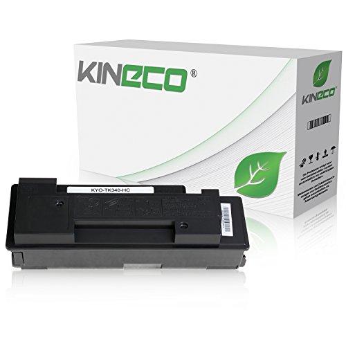 Toner kompatibel zu Kyocera TK-340 TK340 für Kyocera FS-2020D, FS-2020DN - 1T02J00EU0 - Schwarz 12.000 Seiten