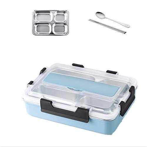 Foshuo Bento Lunch Box Food Container Box Lunch Box,Lonchera con Aislamiento Bolsa de Almuerzo Reutilizable Lonchera Fun Life Fice Picnic Travel Mom Storage Cajas Bento