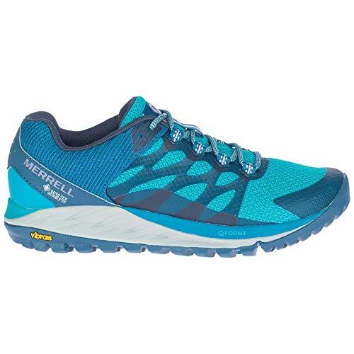 Merrell ANTORA 2 GTX, Zapatillas para Caminar Mujer, Azul (Capri), 42.5 EU