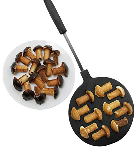 10 MUSHROOMS COOKIE/BAKING DISH NON-STICK coating sweet Pastry Maker Russian Cookie Mushrooms Baker Oreshki oreshnitsa