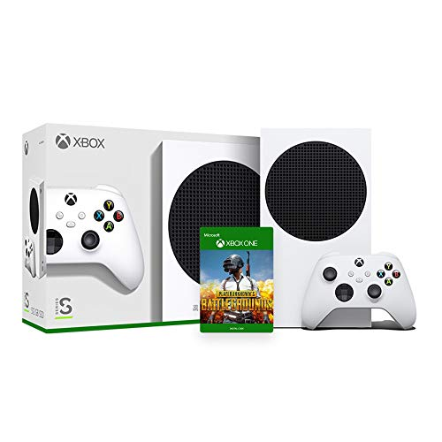 Seyted Xbox Series S 512GB SSD Console and Wireless Controller with PUBG Full Game Accessory for Xbox Controller - EU Console with US AC Cable 110-220V Compatible