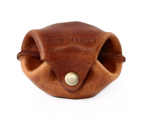 L'ESCARCELLE portafoglio in pelle, borsa de studio, stile monedero epoca PAUL MARIUS Vintage & Retro