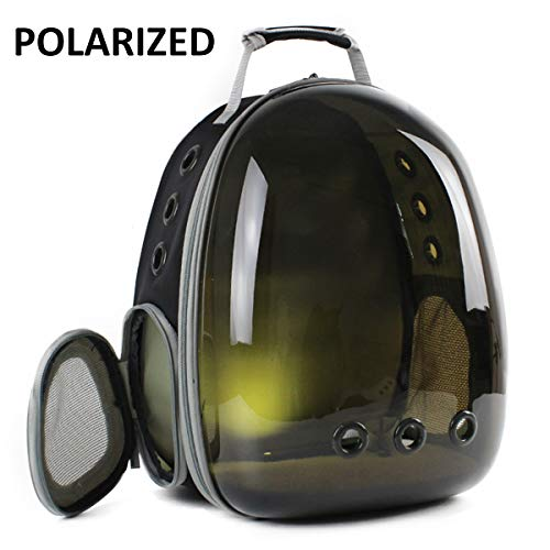 Hcupet Cat Carrier Backpacks, Polarized Tinted Transparent Space Capsule Cat Backpack Bubble Cat...