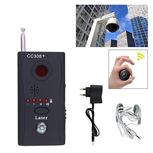 Bug Finder GSM GPS rilevatore RF Tracker per monitorare i dispositivi wireless Dispositivo Radio fotocamera Spy Cam segnale wireless laser Lens