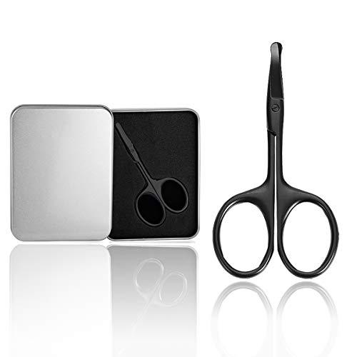 Nasenhaarschere Nasenhaarschneider mit Edelstahl Abgerundeter Spitze SCHERE Friseur Schere Bartschere