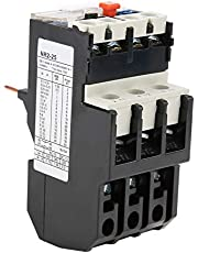Relé de sobrecarga térmica BR2-25, protección del motor ajustable térmica 50-60hz 7A-10A, 1NO + 1NC auxiliar