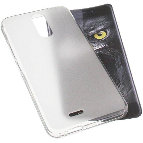 foto-kontor Funda para Ulefone Metal Protectora de Goma TPU para móvil Transparente Blanca