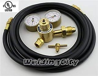 WeldingCity UL-Listed Regulator Flowmeter AF150-580 for Argon/CO2 Victor Style 0781-1103