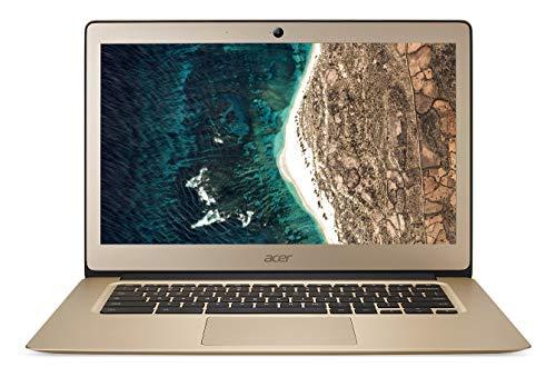 Acer Chromebook CB3431C01X Ordinateur portable 14' FHD Gold (Intel Celeron, 4 Go de RAM, 32 Go eMMC,...