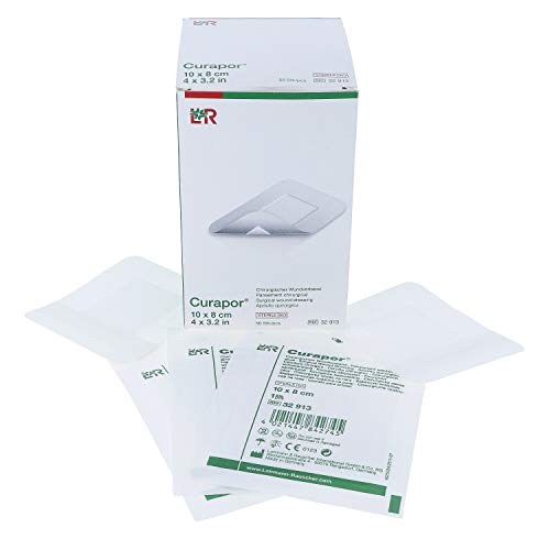 Curapor chirurgischer Wundverband steril 10 cm x 8 cm (50 Stück)