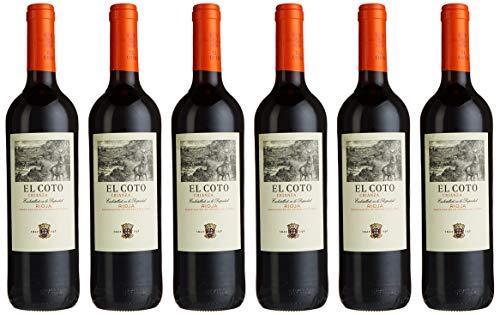 El Coto Rioja Crianza D.O.Ca. Bodegas Rotwein trocken (6 x 0.75 l)