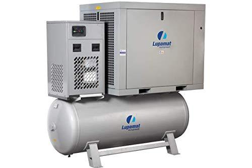 Lupamat-Riemengetriebener Schraubenkompressor mit angebautem Kältetrockner(4-15 kw)7-10-13 bar - 3
