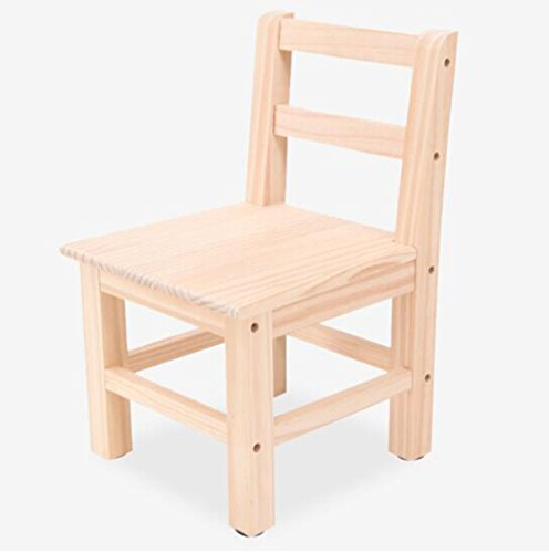 Tabouret en bois Tabouret d'enfants en bois massif créatif dessin animé tabouret maison petit tabouret table basse tabouret maternelle tabouret (Couleur : B)