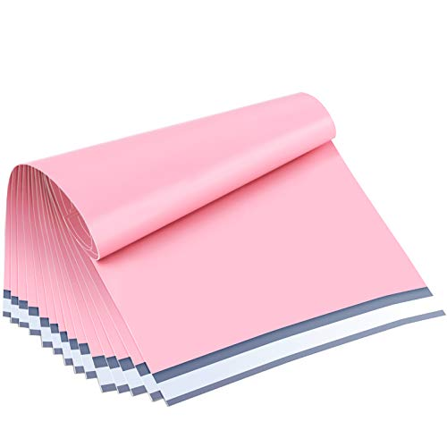 """UCGOU 6x9"""" Light Pink Poly Mailers Premium Shipping Envelopes Mailer Self Sealed Mailing Bags with Waterproof and Tear-Proof Postal Bags 200Pcs"""