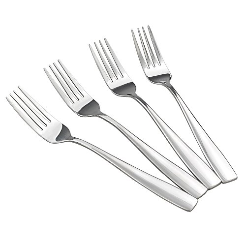 HOMMP 16-Piece Stainless Steel Dinner Forks, 8.27-INCH
