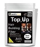 Levins King Hair Building Fiber, Hair Concealer Refill Pack Use for Caboki, Toppik